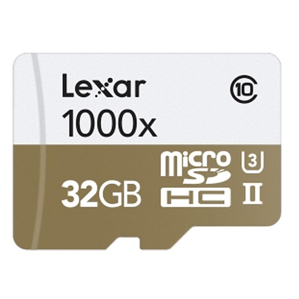 全商品配送無料 平日13時までの決済完了分は即日出荷 メール便は追跡番号付きで安心 配達スピードも速くなりました 32GB microSDHCカード マイクロSD Lexar レキサー 再再販 Professional s W:45MB LSDMI32GCBEU1000R USB3.0カードリーダー付 売り込み U3 メ UHS-II 海外リテール R:150MB