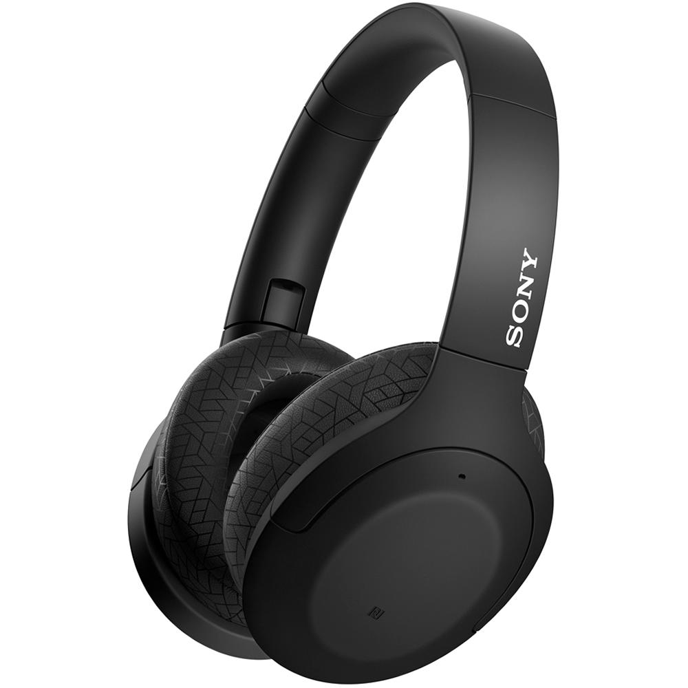 Bluetoothヘッドホン ワイヤレスヘッドセット ハイレゾ級高音質 SONY ソニー 密閉ダイナミック型 ノイズキャンセリング機能 ブラック WH-H910N-B ◆宅