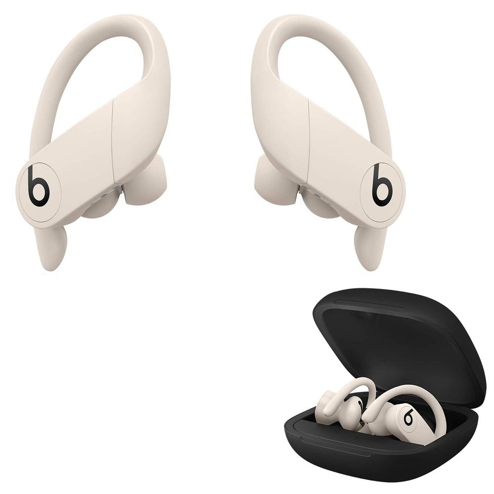 完全ワイヤレスイヤフォン Bluetoothイヤホン Beats by Dr. Dre Powerbeats Pro 耐汗/防沫仕様 9h連続再生 イヤーフック付 アイボリー MV722PA/A ◆宅