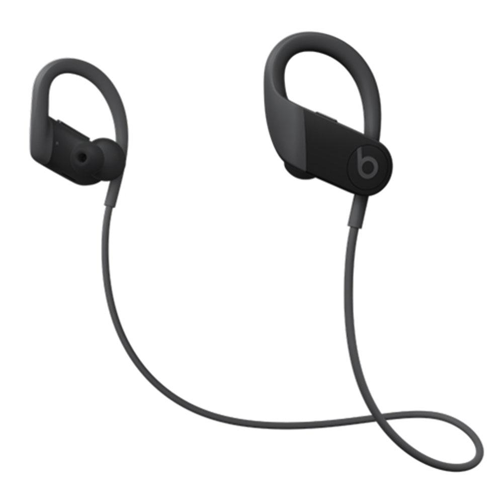 イヤーフック型ワイヤレスイヤフォン Powerbeats Beats by Dr.Dre iPhone・iPad用 耐汗/防沫機能 最長15時間再生 ブラック MWNV2PA/A ◆宅