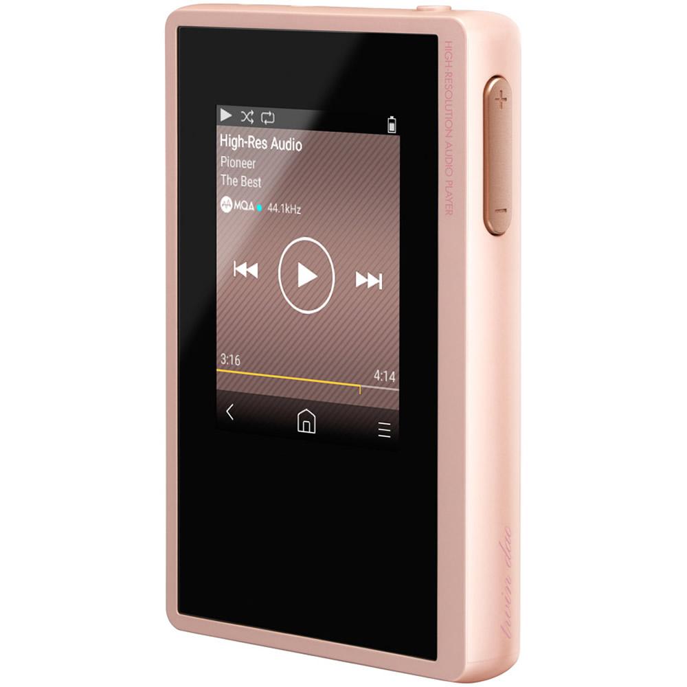 ハイレゾ対応デジタルオーディオプレイヤー パイオニア Pioneer private 連続15時間再生 Bluetooth 内蔵16GB+microSDスロットx2 パールピンク XDP-20(P) ◆宅