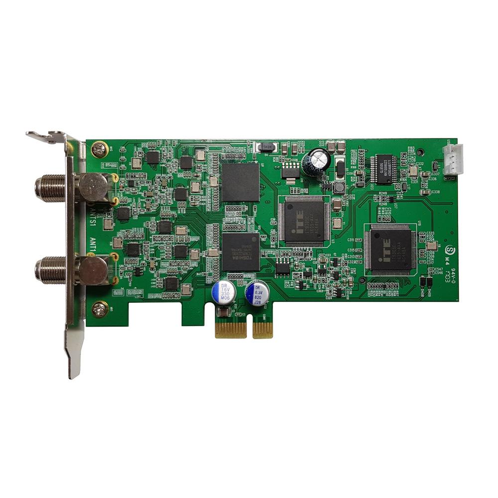 8ch同時録画・視聴 地上デジタル・BS/CSテレビチューナー PLEX プレクス 地デジx4 BS CSx4 PCI-Express+内部USB接続型 PX-Q3PE4 ◆宅