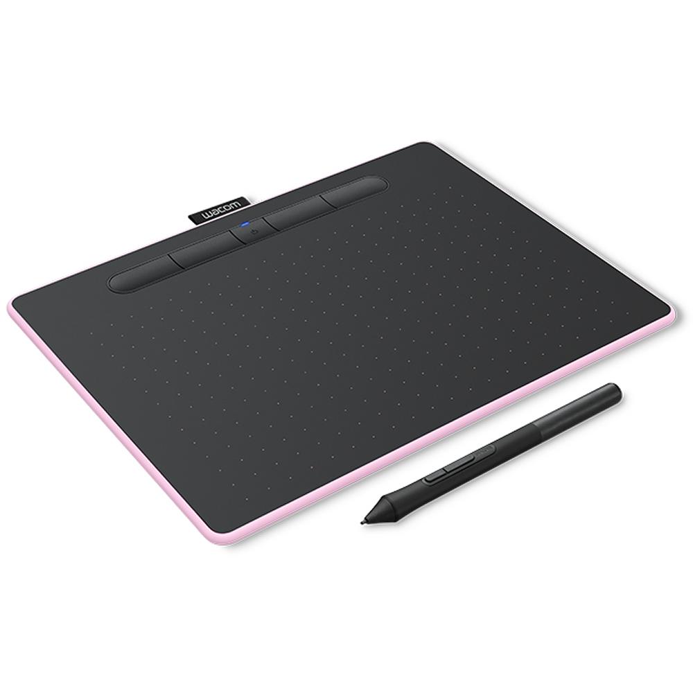 ペンタブレット Intuos medium WACOM ワコム ワイヤレスモデル Mサイズ Bluetooth/USB接続 ベリーピンク CTL-6100WL/P0 ◆宅