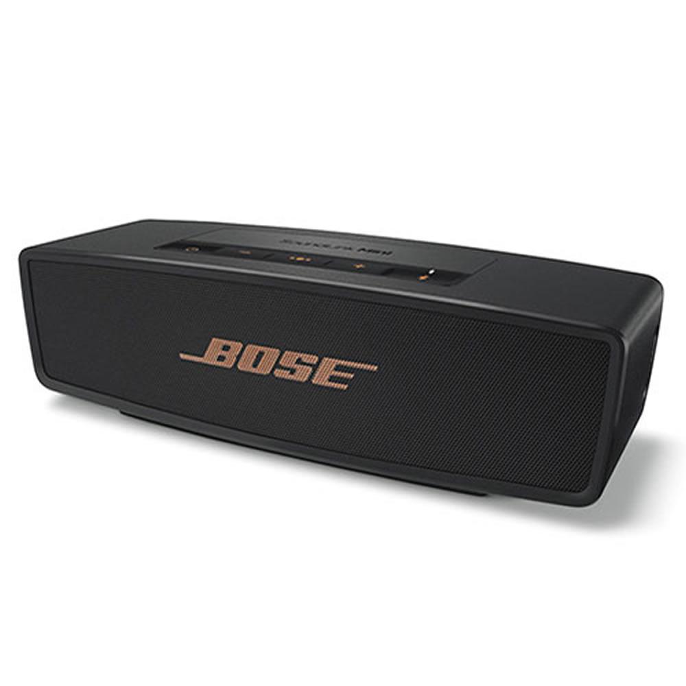 ワイヤレススピーカー BOSE SoundLink Mini Bluetooth Speaker II Limited Edition Bose ボーズ 連続再生10h 数量限定 ブラック/カッパー SoundLinkMiniIIBC ◆宅