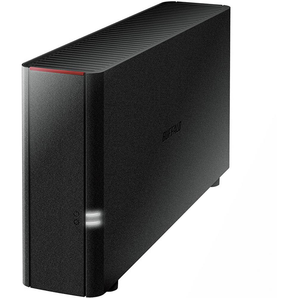 2TB 外付けハードディスク ネットワーク対応HDD BUFFALO バッファロー LinkStation PC/スマホ対応 2.0TB LS210D0201C ◆宅