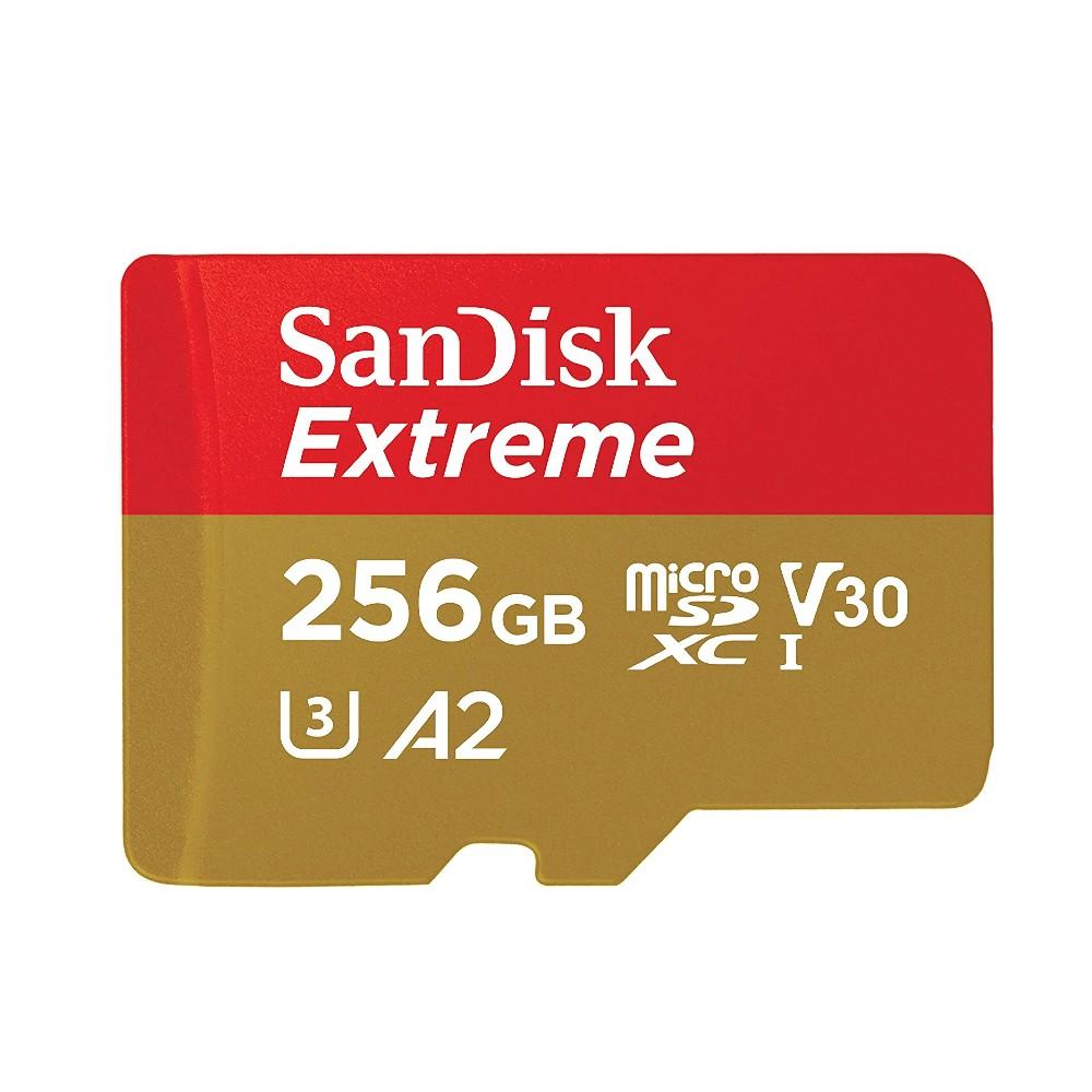 全商品配送無料 2020モデル 平日13時までの決済完了分は即日出荷 メール便は追跡番号付きで安心 配達スピードも速くなりました 256GB microSDXCカード マイクロSD for Mobile Gaming SanDisk サンディスク V30 UHS-I U3 SDSQXA1-256G-GN6GN R:160MB メ Extreme s W:90MB A2 海外リテール 卓出