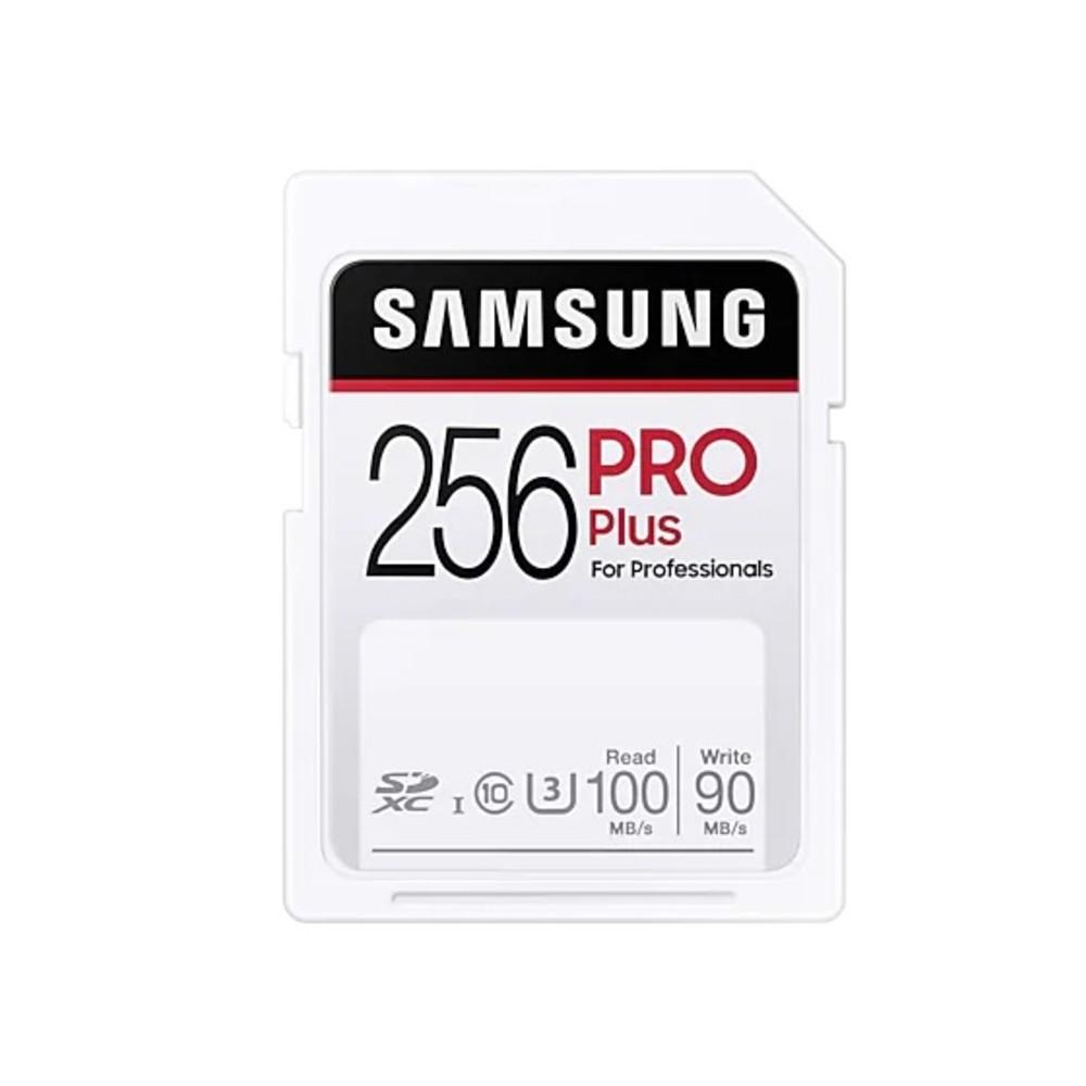 全商品配送無料 平日13時までの決済完了分は即日出荷 受注生産品 メール便は追跡番号付きで安心 配達スピードも速くなりました 256GB SDXCカード SDカード Samsung サムスン PRO Plus s 出群 U3 Class10 R:100MB MB-SD256H 海外リテール メ UHS-I W:90MB CN 7つの耐久性能