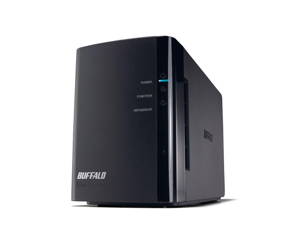 6TB 外付けハードディスク ネットワーク対応HDD BUFFALO バッファロー リンクステーション for SOHO RAID機能搭載 6.0TB LS-WXB6.0TL/R1J ◆宅