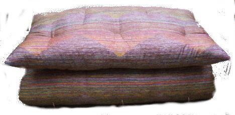 ミニサイズ 小さい敷布団90×190cm(出来上がりサイズは約83x183cm)狭い場所にも最適純もめん綿の当店手作り布団綿の量5kg入り