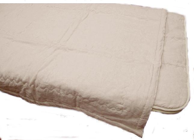 本麻掛け布団天然のクール素材!樹脂を使っていない麻綿麻100% 夏掛け布団 シングルサイズ150x200cm熱帯夜も涼しく眠れる掛け布団日本製・オリジナル