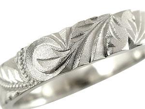 結婚指輪プラチナペアリング2本セットハワイアンペアリングプラチナ900PT900ミル打ち