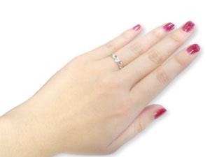 []結婚指輪 マリッジリング ペアリング プラチナリング 2本セット ダイヤ ダイヤモンド【楽ギフ_包装】【コンビニ受取対応商品】