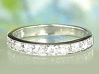 []結婚指輪ペアリングマリッジリング 2本セット ダイヤ ダイヤモンド リング ホワイトゴールドk18 エタニティリング18k 18金【楽ギフ_包装】【コンビニ受取対応商品】