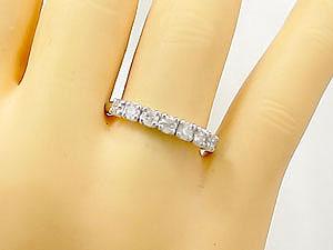 []ペアリング エタニティリング ダイヤモンドリング 結婚指輪 マリッジリング ホワイトゴールドk18 指輪 2本セット18k 18金【楽ギフ_包装】【コンビニ受取対応商品】