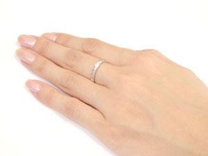 ハワイアンペアリング リング 結婚指輪 プラチナ 一粒ダイヤ ダイヤモンド スクロール 波 結婚記念リング ウェディングリング ブライダルリング ミル打ち ミル ハワジュ 2本セット 地金リング ブライダルジュエリー楽ギフ 包装指輪 送料無料6vI7ymgYbf