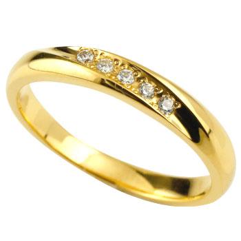 ダイヤモンドリング 婚約指輪 エンゲージリング 指輪 ダイヤ イエローゴールドk18 レディース18k 18金【コンビニ受取対応商品】 大きいサイズ対応 送料無料