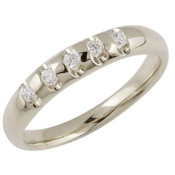 []婚約指輪 エンゲージリング ダイヤモンドホワイトゴールドk18リング 指輪 ダイヤ ダイヤモンドリング シンプルストレート ホワイトゴールドk18 K18 メンズ レディース18k 18金【楽ギフ_包装】【コンビニ受取対応商品】