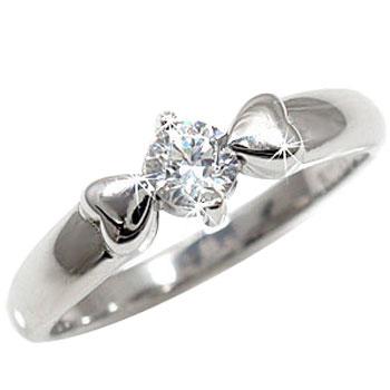 [送料無料]エンゲージリング 婚約指輪 ダイヤ ダイヤモンドリング ホワイトゴールドK18 一粒ダイヤ【コンビニ受取対応商品】