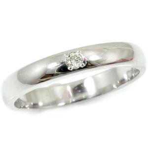 プラチナ ダイヤモンド リング 婚約指輪 エンゲージリング 指輪 一粒ダイヤモンド 爪なし レディース 【コンビニ受取対応商品】 大きいサイズ対応 送料無料