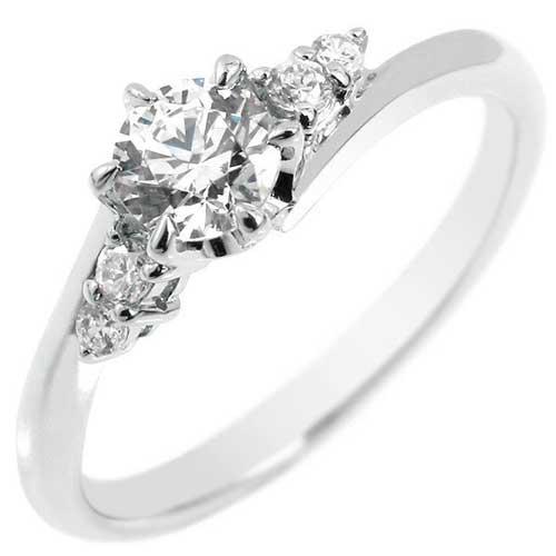 エンゲージリング プラチナリング ダイヤモンド リング ダイヤ0.37ct 一粒ダイヤモンド大粒ダイヤモンド 指輪 婚約指輪【コンビニ受取対応商品】 大きいサイズ対応 送料無料