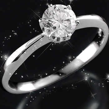 立爪 鑑定書付 指輪 婚約指輪 エンゲージリング 指輪 プラチナリング ダイヤモンド リング 一粒ダイヤ ダイヤモンド 大粒ダイヤモンド0.40ct SIクラス 立て爪【コンビニ受取対応商品】 大きいサイズ対応 送料無料