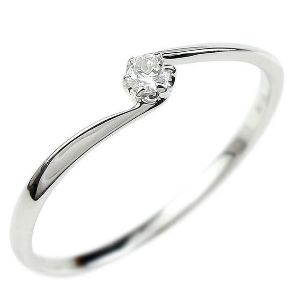 婚約指輪 エンゲージリング プラチナリング プラチナ 指輪 ダイヤモンド リング ダイヤ ピンキーリング 一粒ダイヤモンド シンプル 安い 天然石 レディース【コンビニ受取対応商品】 大きいサイズ対応 送料無料