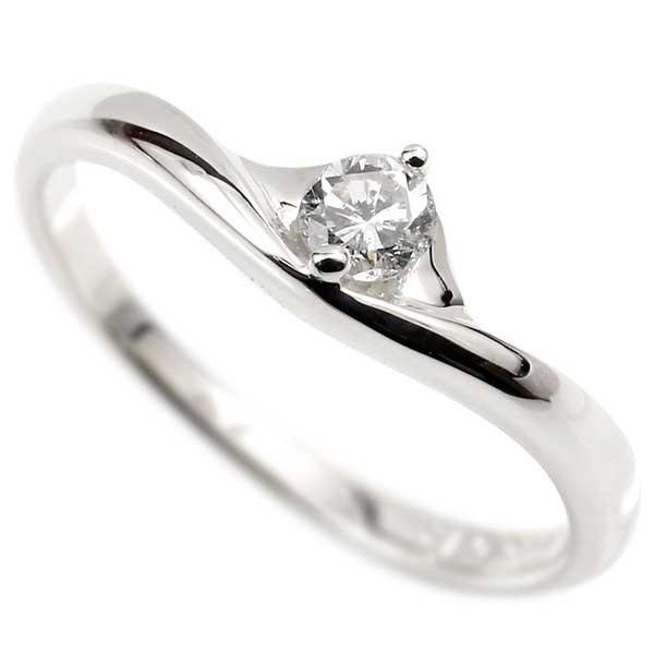 シンプル プラチナリング ダイヤモンド 婚約指輪 エンゲージリング 指輪 ダイヤ 一粒 ピンキーリング pt900 レディース【コンビニ受取対応商品】 大きいサイズ対応 送料無料