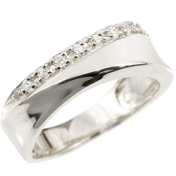 婚約指輪 エンゲージリング ダイヤモンド ゴールドリング 18金 ホワイトゴールドk18 指輪 幅広 ダイヤ ピンキーリング 18k ダイヤ レディース【コンビニ受取対応商品】 大きいサイズ対応 送料無料