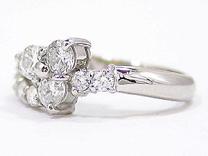 []プラチナ エンゲージリング ダイヤモンドリング 指輪 ダイヤ レディース【楽ギフ_包装】【コンビニ受取対応商品】