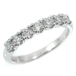 ダイヤモンドリング 婚約指輪 エンゲージリング エタニティ ピンキーリング ホワイトゴールドK18 指輪 立て爪【コンビニ受取対応商品】 大きいサイズ対応 送料無料