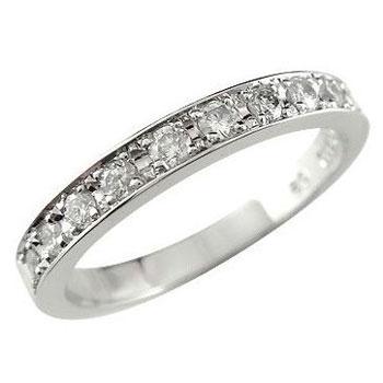 [送料無料]ピンキーリング プラチナ リング 指輪 ダイヤ ダイヤモンド リング スイートエタニティーリング0.20ct 小指にお守りとして【コンビニ受取対応商品】