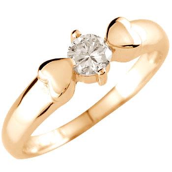 婚約指輪 エンゲージリング ダイヤモンド 指輪 一粒 大粒ピンクゴールドk1818k 18金【コンビニ受取対応商品】 大きいサイズ対応 送料無料
