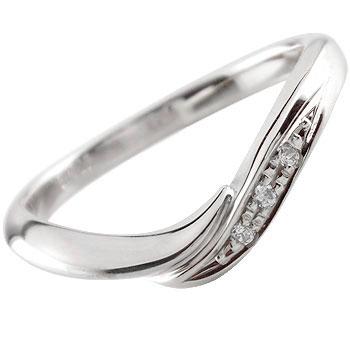 ダイヤモンドリング 婚約指輪 エンゲージリング プラチナ900 リング 指輪 ピンキーリング ソフトライン【コンビニ受取対応商品】 大きいサイズ対応 送料無料