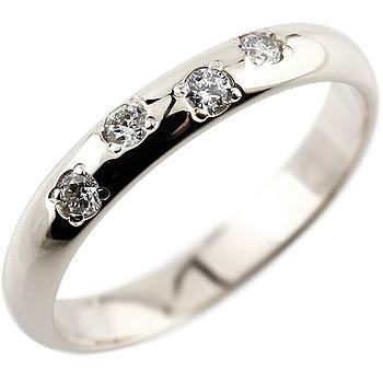 プラチナリング 指輪 ダイヤモンド リング ダイヤモンド リング ダイヤ ストレート レディース【コンビニ受取対応商品】 大きいサイズ対応 送料無料