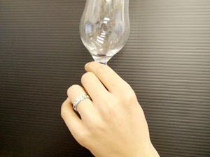 []ペアリング マリッジリング 結婚指輪 プラチナ900 ハワイアン ダイヤモンド プラチナリング フルエタニティー 結婚記念リング ウェディングリング ブライダルリング ハワジュ hawaii 2本セット ブライダルジュエリー【楽ギフ_包装】