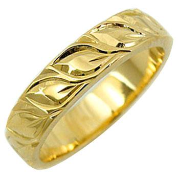 最初の  ハワイアンリング 指輪 イエローゴールドk18 ハワイアンジュエリー 小指に記念にお守りとして 18金 18k ハワジュ レディース メンズ【】【コンビニ受取対応商品】 大きいサイズ対応 送料無料, ふとんのマルソウ 580689db