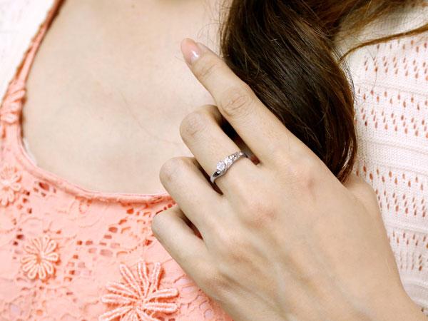 []ハワイアンジュエリー 婚約指輪 エンゲージリング ダイヤモンドリング ホワイトゴールドk18 リング 指輪 ハワジュ レディース18k 18金【楽ギフ_包装】【コンビニ受取対応商品】