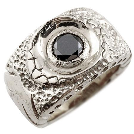 [送料無料]メンズジュエリー プラチナ メンズ リング PT900 ブラックダイヤモンド 1.0ct リング 幅広 指輪 男性用【コンビニ受取対応商品】