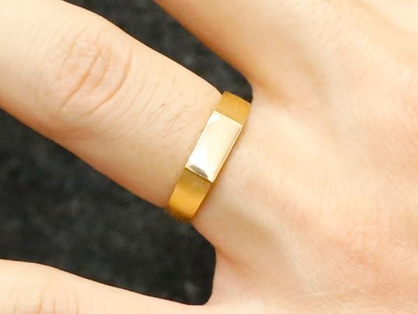純金 24金 k24 ペアリング 結婚指輪 印台 指輪 幅広 メンズ レディース 2本セット 楽ギフ 包装コンビニ受取対応商品指輪 大きいサイズ対応 送料無料AjL45R3