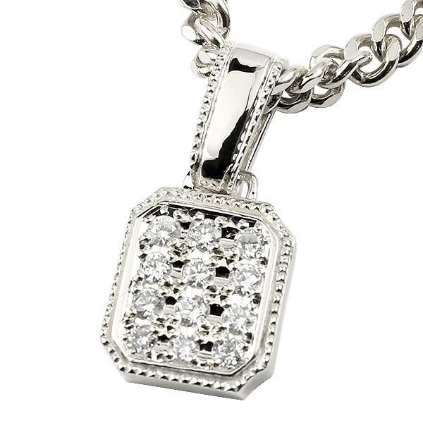 注文割引 18金 ペンダント 男性用 ホワイトゴールドK18 メンズ ダイヤモンド ペンダント メンズジュエリー ペンダントトップ ダイヤモンド ダイヤ 18k ネックレス シンプル 男性用 men