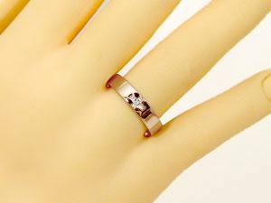 []クロス ペアリング 結婚指輪 マリッジリング ブライダルリング ウェディングリング ウェディングバンド 結婚記念 結婚式 ダイヤモンド ホワイトゴールドk18 ピンクゴールドk18 ハンドメイド 2本セット18k 18金【楽ギフ_包装】