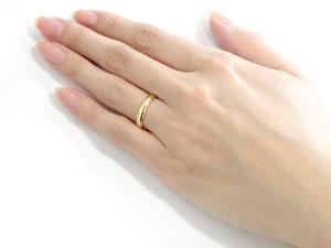 ペアリング 結婚指輪 マリッジリング イエローゴールドk18 シンプル 地金リング 宝石なし 甲丸 2本セット 幅広18k 18金 楽ギフ 包装コンビニ受取対応商品指輪 大きいサイズ対応 送料無料8O0Pknw