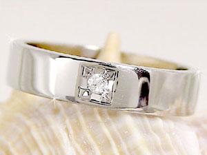 []ペアリング プラチナ900ダイヤ ダイヤモンド 結婚指輪 マリッジリング 2本セット【楽ギフ_包装】【コンビニ受取対応商品】