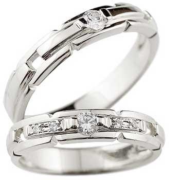 結婚指輪 マリッジリング ペアリング プラチナ900ダイヤ ダイヤモンド リングPT900 ハンドメイド2本セット【コンビニ受取対応商品】 指輪 大きいサイズ対応 送料無料