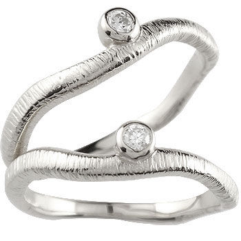 [送料無料]ペアリング 結婚指輪 マリッジリング プラチナ ダイヤモンド 一粒ダイヤモンド ハンドメイド 2本セット【コンビニ受取対応商品】