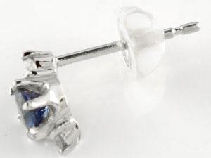 サファイア ブルー ピアス ダイヤモンドピアス ダイヤ プラチナピアス PT900 楽ギフ 包装コンビニ受取対応商品送料無料Rc3jL4AS5q