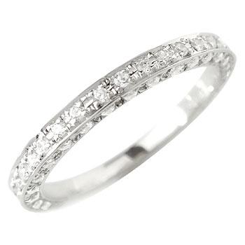 ダイヤモンドリング 婚約指輪 エンゲージリング プラチナ900 エタニティーリングリング ピンキーリング レディース【コンビニ受取対応商品】 大きいサイズ対応 送料無料