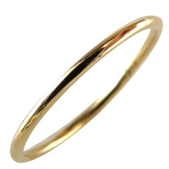 シンプルリング ピンキーリング ピンクゴールドk18 指輪 重ね付けリング 華奢リング オリジナル デザイン 細め 細身 地金リング18k 18金【コンビニ受取対応商品】 大きいサイズ対応