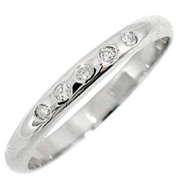 ピンキーリング ダイヤモンド リング プラチナリング ダイヤモンドリング 指輪 ダイヤモンド 0.05ct 小指にお守りとして ダイヤ【コンビニ受取対応商品】 大きいサイズ対応 送料無料