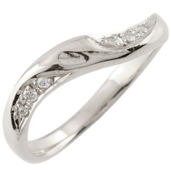 婚約指輪 エンゲージリング ダイヤモンド ホワイトゴールドk1818k 18金【コンビニ受取対応商品】 大きいサイズ対応 送料無料